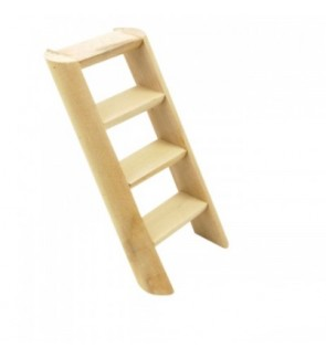 Carno Wooden Ladder 17cmL X 7.5cmW X 2cmH (Hamster Accessories)