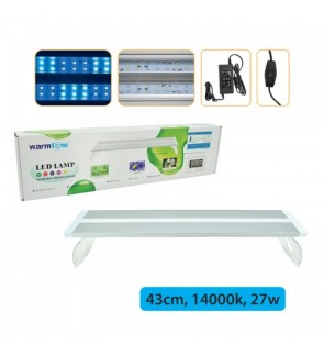Warmtone High OutPut Slim Led Lamp 14000K 27W 45CM