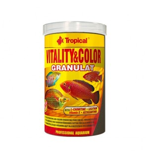 Tropical Vitality & Color Granulat 55g (Offer) (EXP 05/19) (Fish Food)