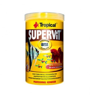 Tropical Supervit 20g (Offer) (EXP 05/19) (Flakes Fish Food)