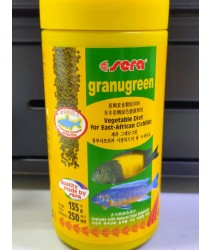 Sera Granugreen 250ml (Fish Food) (Vegetable Diet, For East-African Cichlids)