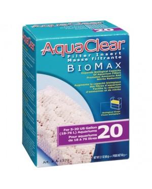 AquaClear 20 Bio-Max Insert - 60g (Filter Media) (For A595)