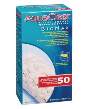 AquaClear 50 Bio-Max Insert - 125g (For A610) (Filter Media)
