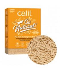 Catit Go Natural Pea Husk Clumping Natural 2x7L