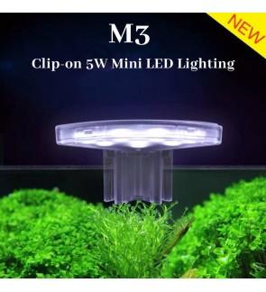 M3 LED Mini Aquarium Clip Light 5W (For Nano Tank Below Below 25cm)