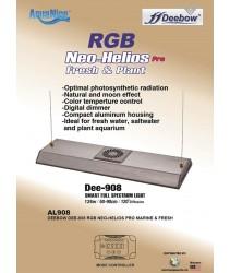 Deebow Dee-908 RGB Aquarium Light Neo Helios Pro (For 50cm - 90cm tank)